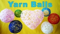 Decorative Yarn Balls